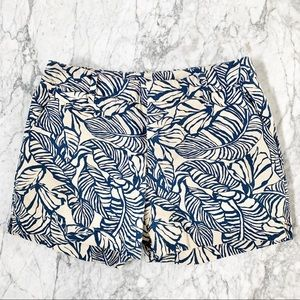 Patagonia 100% Organic Cotton Leaf Print Shorts 4